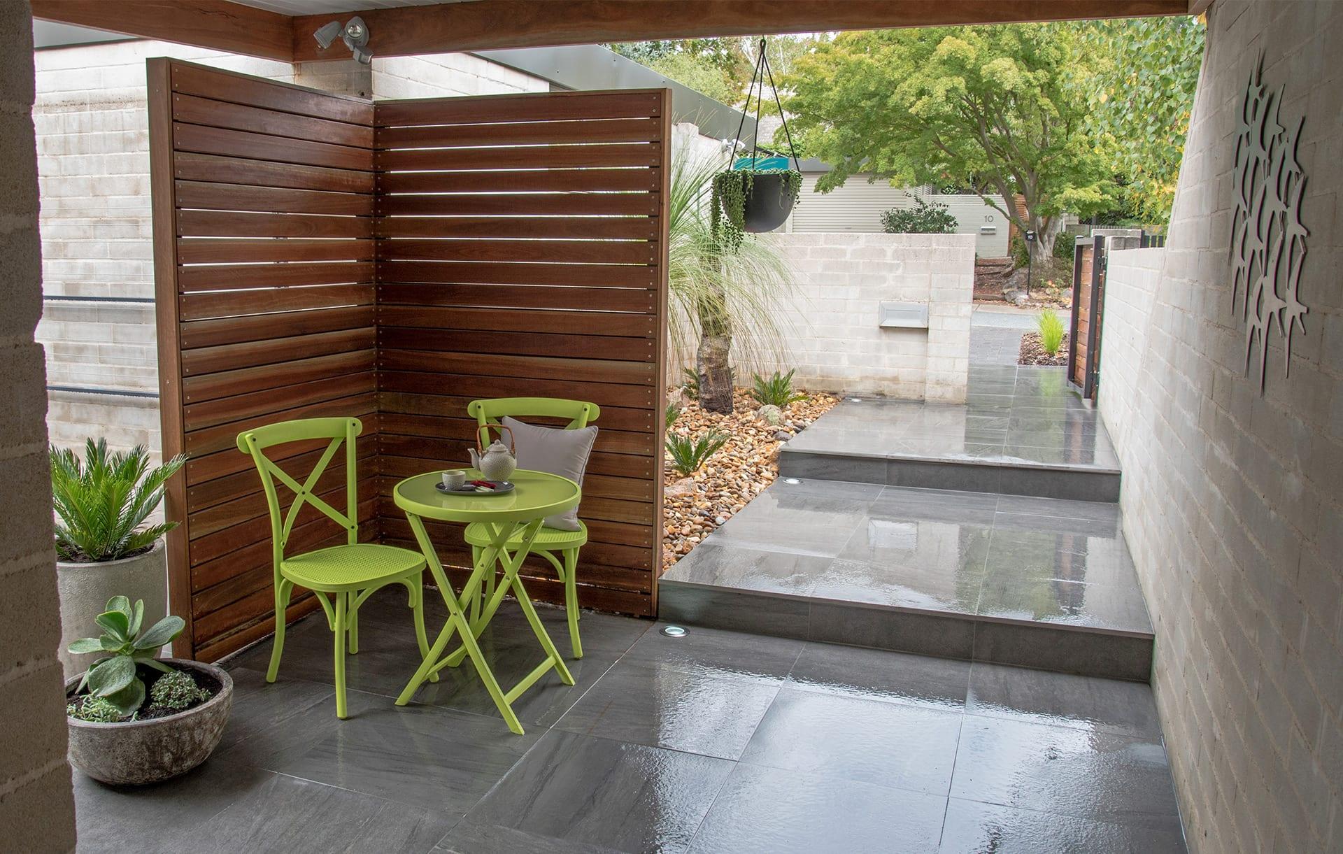 residential garden design canberra